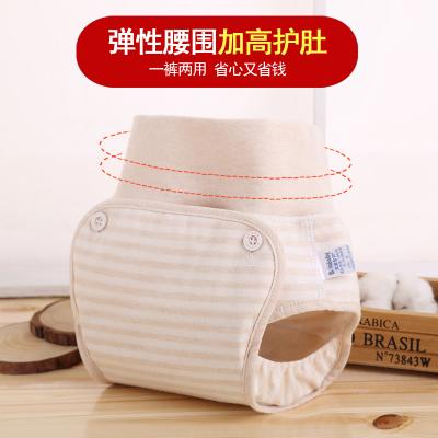 婴儿尿布裤四季纯棉透气宝宝尿布兜防漏隔尿裤尿片可洗高腰尿裤