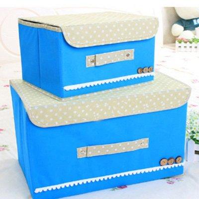 艾格調單蓋腹膜可洗收納箱 整理箱有蓋 淋膜防水防潮