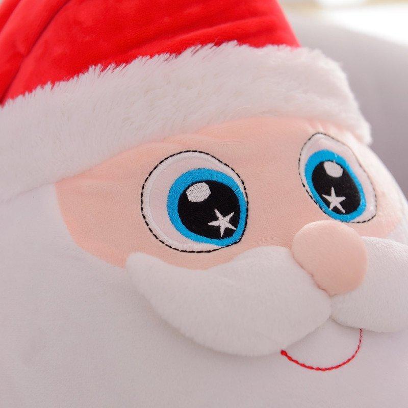 圣诞老人玩具布娃娃 可爱卡通麋鹿企鹅毛绒公仔 圣诞节礼物