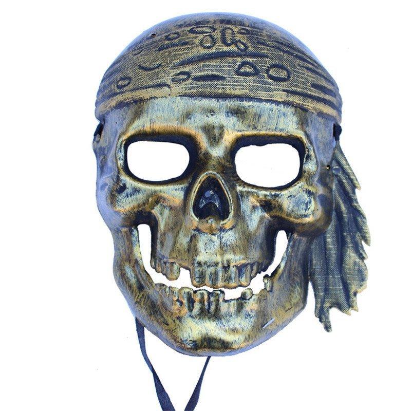 欢乐派对 万圣节化妆舞会面具海盗面具骷髅头吓人恐怖