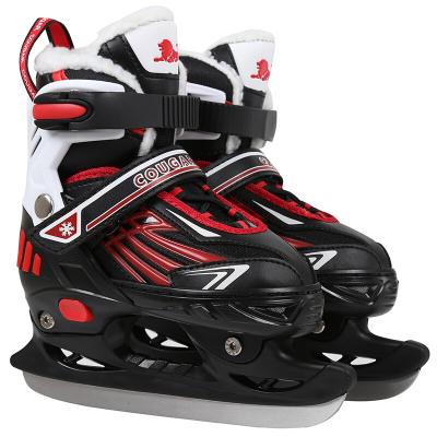 美洲狮儿童成人速滑冰刀鞋花样球刀鞋花刀鞋滑冰溜冰鞋M171028004