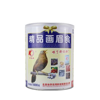正楷鳥糧 畫眉 鷯哥鳥糧鳥食 鳥飼料 桶裝精品鳥糧 鳥食 桶裝畫眉鳥食1000克