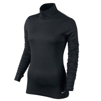 耐克高尔夫服装女士685336-010快递排汗长袖打底衫运动网布