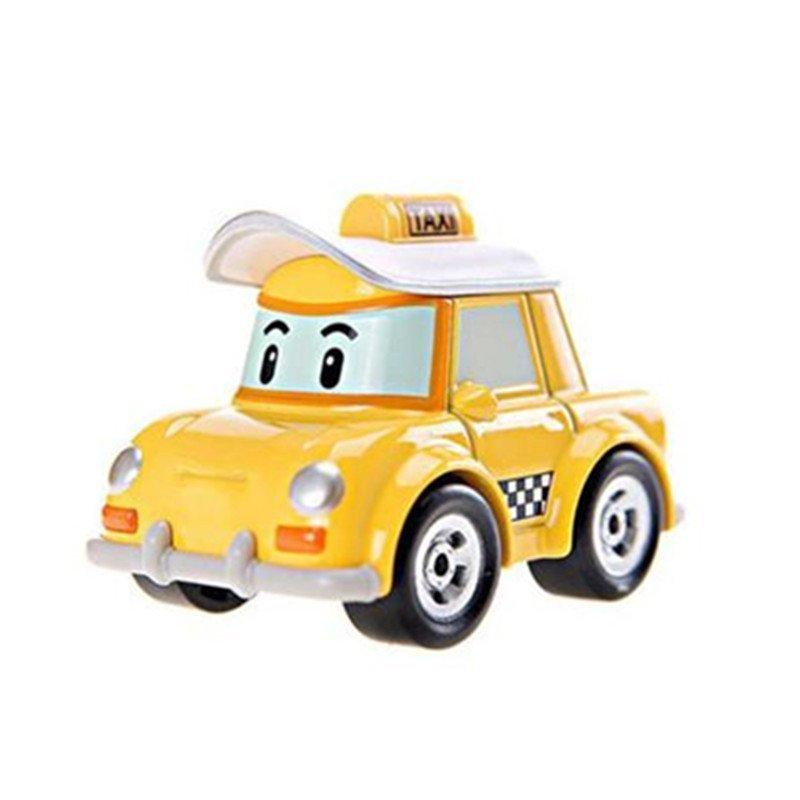 銀輝 韓國變形警車珀利機器人poli玩具車動漫兒童玩具