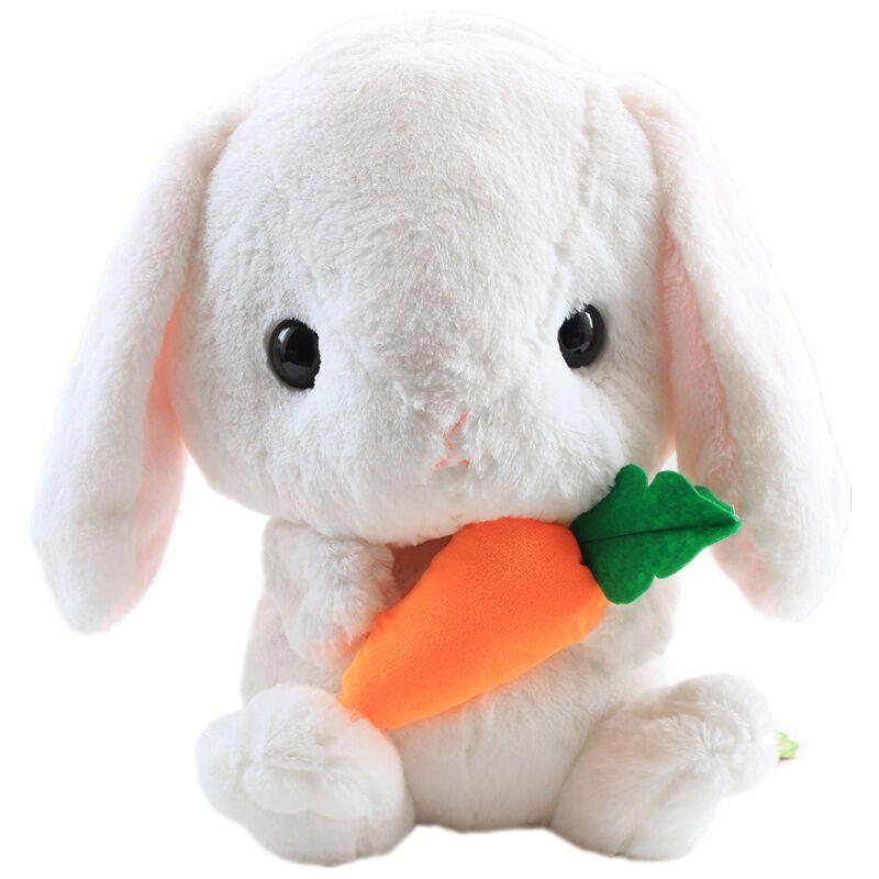 可爱小兔子公仔小白兔公仔毛绒玩具兔子大白兔公仔抱枕布娃娃玩偶情人