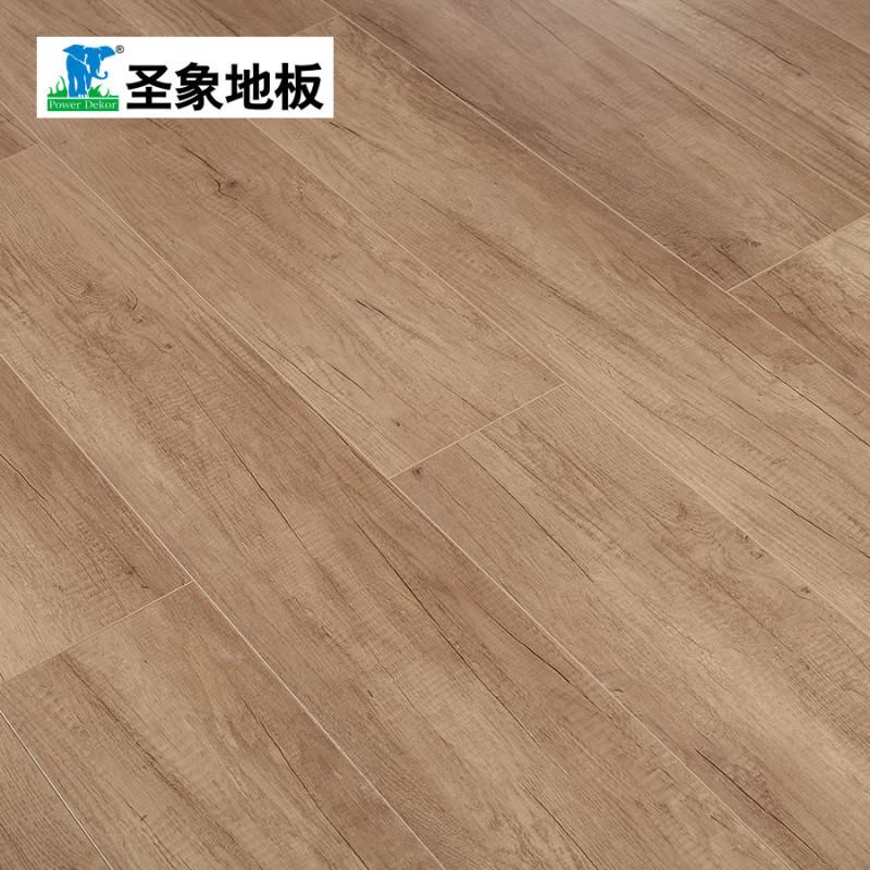 圣象地板f4星级环保强化复合木地板平面四面v槽耐磨11mm ndy2113