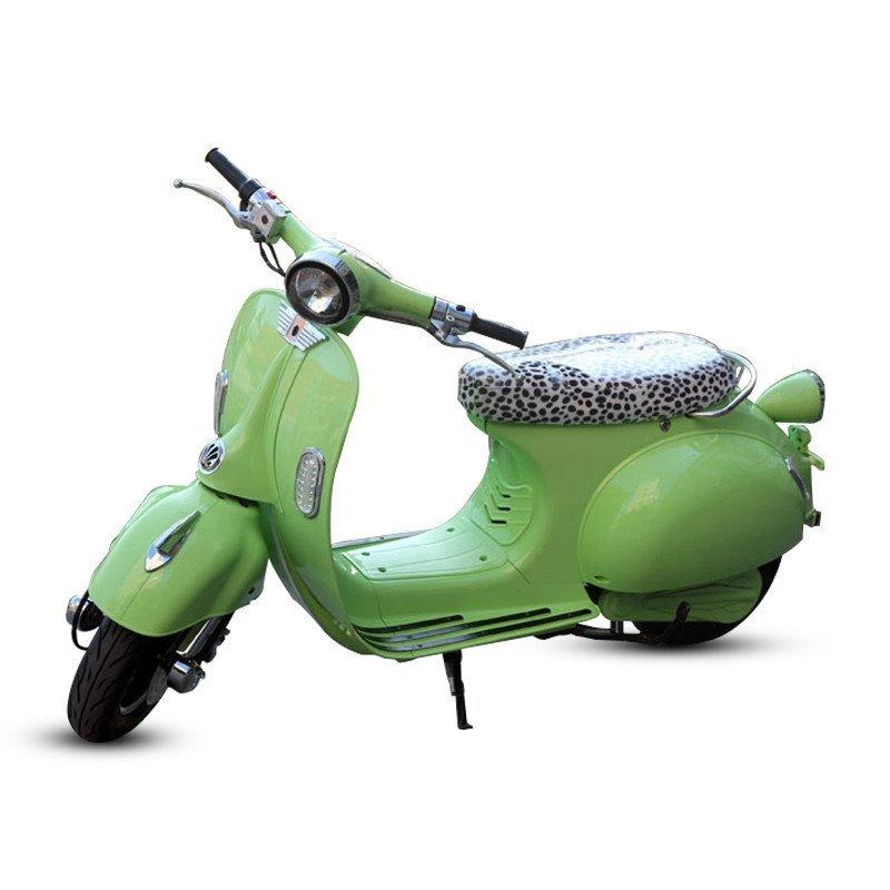 电动车踏板电瓶车电摩车自行车助力车vespa复古电动摩托车百年经典