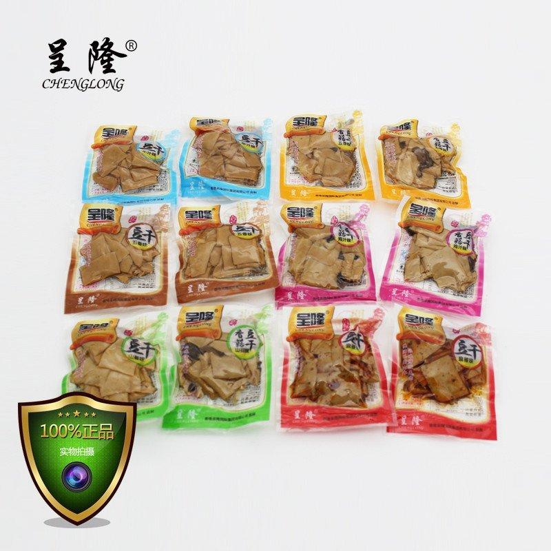 呈隆香菇豆干 500g小包装豆腐干麻辣豆干散装豆制品零食 各种口味图片
