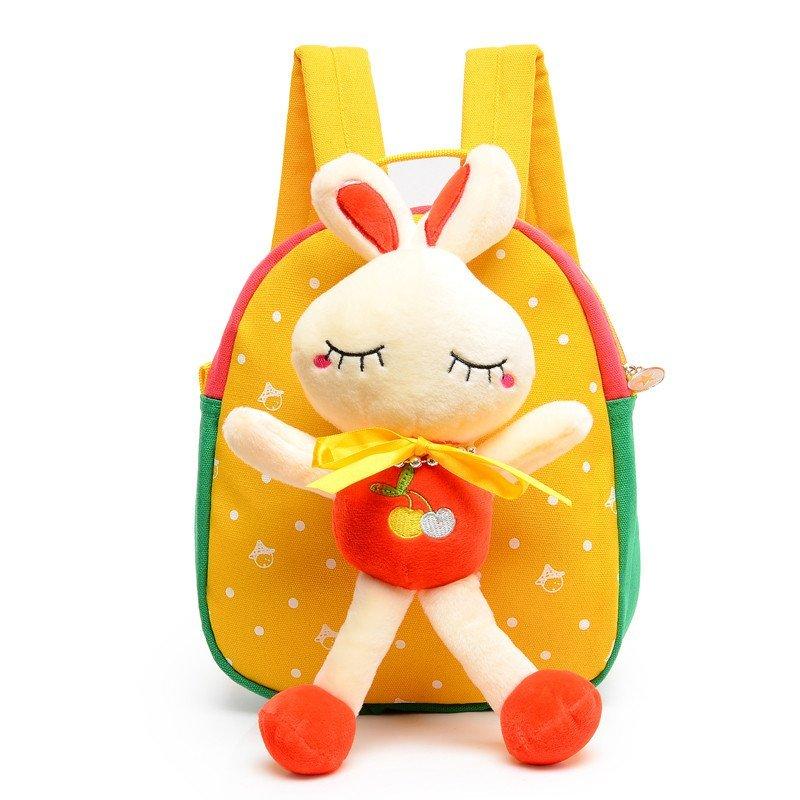 红客 韩版幼儿园双肩包1-3岁宝宝小书包可爱卡通背包男女儿童小班yh