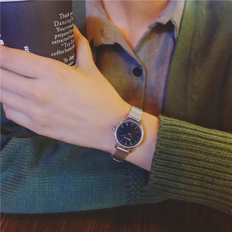 情侣v情侣攀岩大气韩国学生欧美女生韩版女生简复古手表学图片