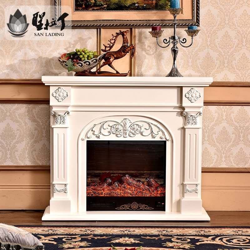 5米欧式装饰仿真火炉芯美式电壁炉电视柜遥控取暖器壁挂炉壁炉架