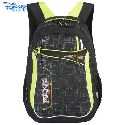 迪士尼(Disney)儿童休闲书包初中-高中男生休闲双肩书包 ML8112D黑色送笔袋