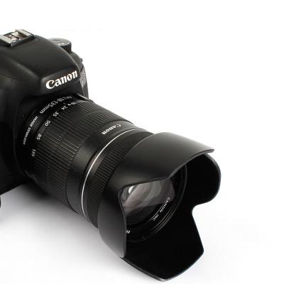 EW-73B 遮光罩 适用佳能800D 650D 700D 60D 750D 760D 18-135 STM 单反镜头
