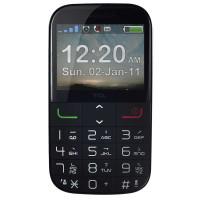 TCL 老人手机 (i310) 移动联通2G直板按键手机 黑色