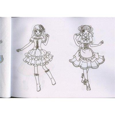 美少女简笔画4本包邮小手学画美丽公主漂亮女孩蒙纸临摹画画3-4-5-6-8