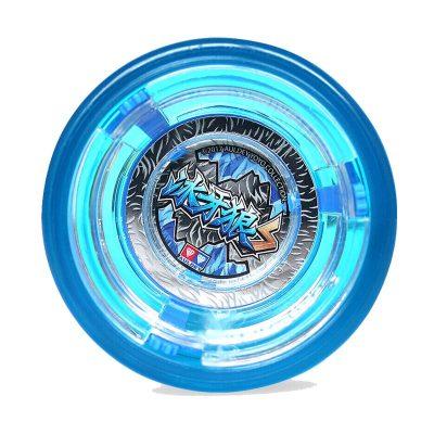 奧迪雙鉆兒童玩具火力少年王6悠拳英雄溜溜球-高級塑膠花式悠悠球冰牙狼677241