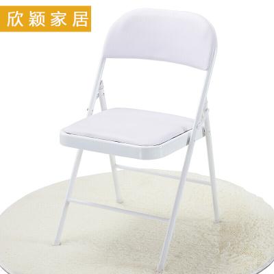 佳家达会议椅折叠椅子家用电脑休闲座椅简易办公室靠背椅凳子特价靠椅餐椅培训椅子