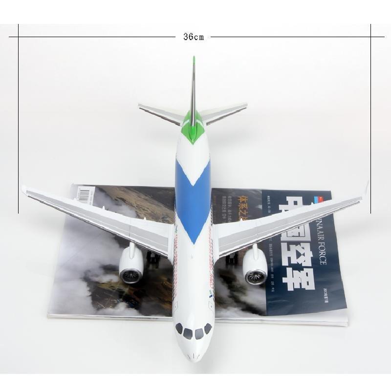 1:100商飞c919客机飞机模型合金飞机商务礼品摆件民航模型礼物