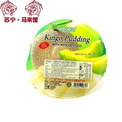 馬來西亞館 可康/Cocon 大杯果凍 (果味型) 哈密瓜味 420g*1杯