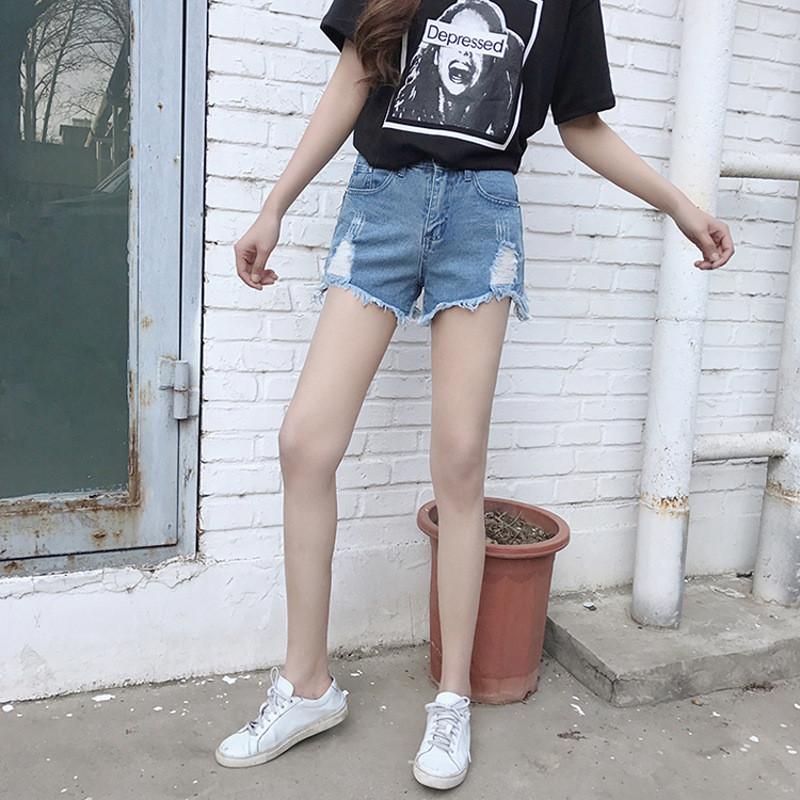 阔腿牛仔裤女韩版潮