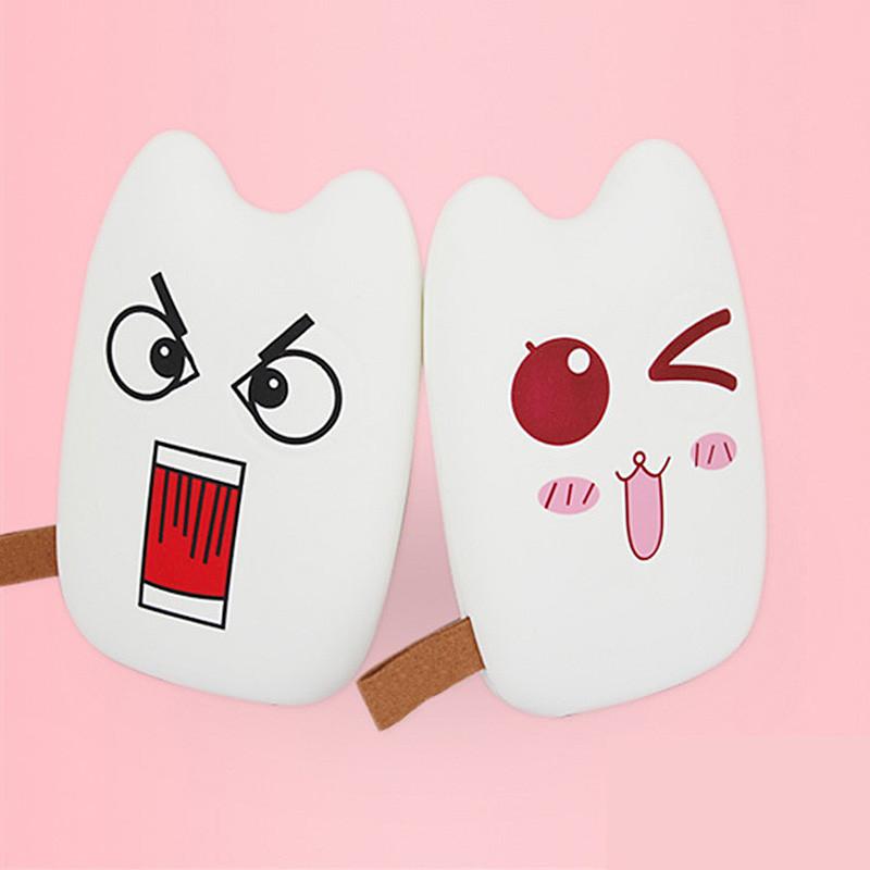 卡通超薄龙猫豆豆龙表情充电宝可爱手机通用移动电源