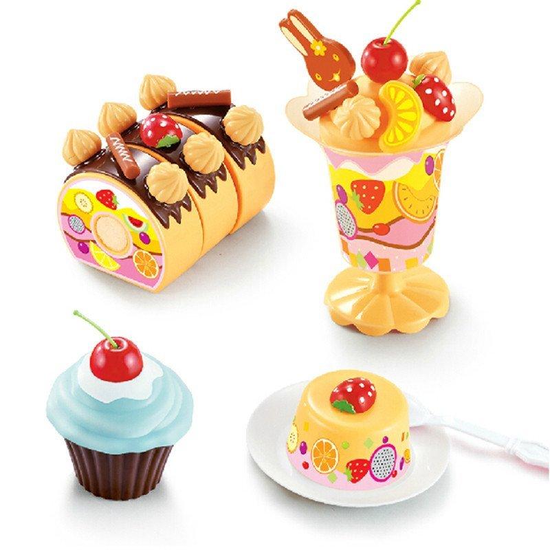 益智玩具 儿童过家家玩具 厨房厨具套装 水果生日蛋糕