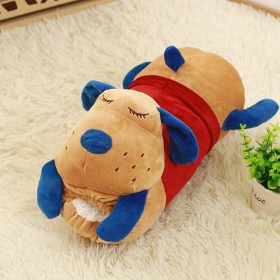 朵啦啦 动物长款暖手靠垫 毛绒玩具大号布娃娃玩偶 生日礼物 女生 代