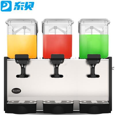 東貝(donper)DKX15X3LR冷熱兩用商用 冷熱飲機 飲料機三缸自助果汁機 攪拌式