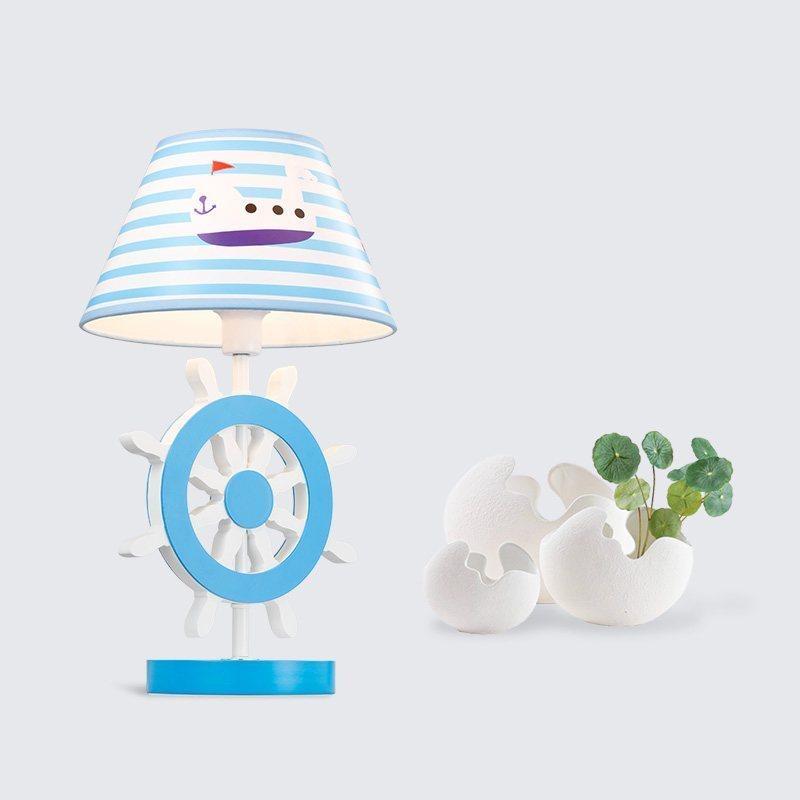雷士照明 缤纷海洋 儿童房床头灯书房卧室可爱卡通装饰创意温馨台灯