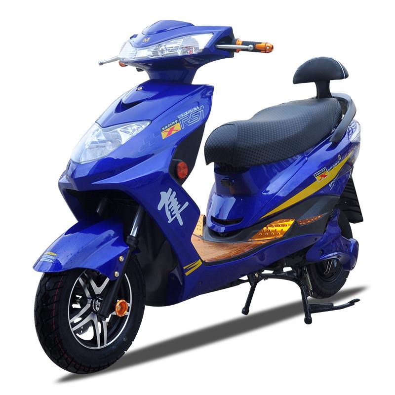 迅鹰电动车电瓶车电摩踏板摩托车72v双人60v电动自行车96v1500w