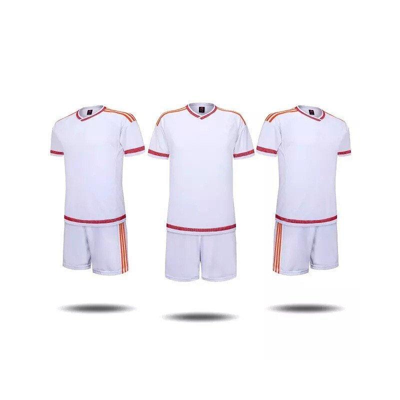 户外运动2016年春夏季中小学生空白版足球训练服 童装