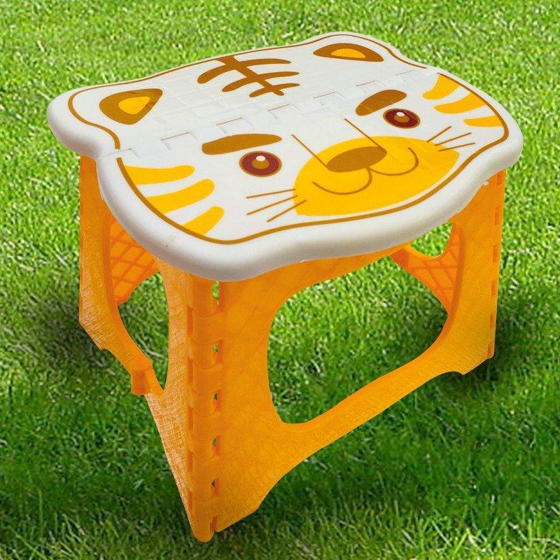 折叠凳子马扎矮板凳便携式儿童加厚型 可爱卡通钓鱼凳