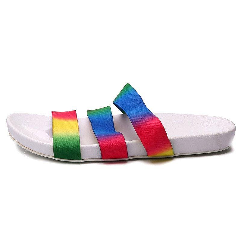 男士 时尚 人字拖鞋夏季防滑沙滩鞋夹脚居家室内塑料浴室凉拖潮青少年