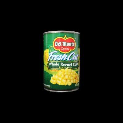 泰国进口地扪玉米粒/甜玉米粒 罐头 整粒超新鲜 无防腐剂 420g