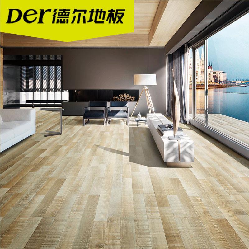 德尔地板无醛芯环保地板强化复合木地板适用地暖dn0002 莱茵河岩岸