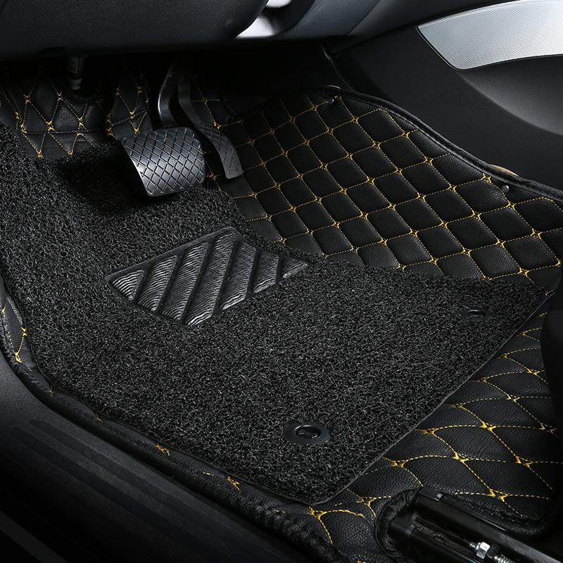 汽车脚垫专车定制全包围大包围脚垫丝圈脚垫 大众捷达桑塔纳朗逸宝来