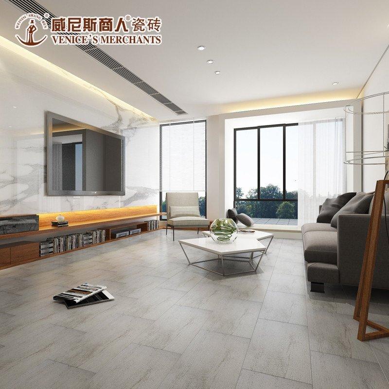木纹砖 卧室仿实木地板砖 阳台防滑地砖 酒吧灰色做旧瓷砖 现代简约