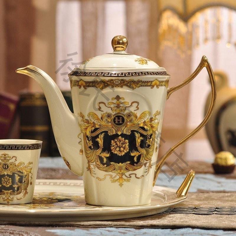 式茶具咖啡具 茶壶茶杯杯具套装英式下午茶-欧式英式下午茶茶杯 咖