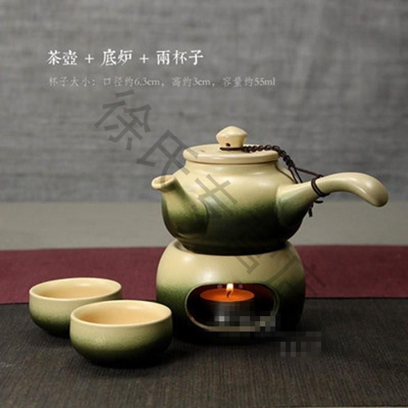 古风茶具手绘图