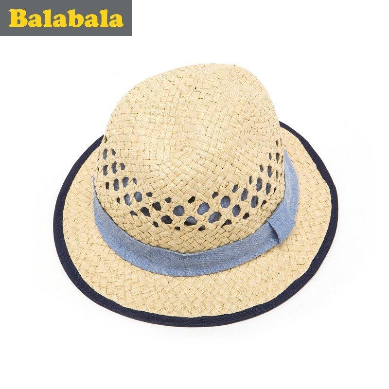 巴拉巴拉男童帽子中大童可爱时尚帽童帽2016夏季新款童装儿童帽子