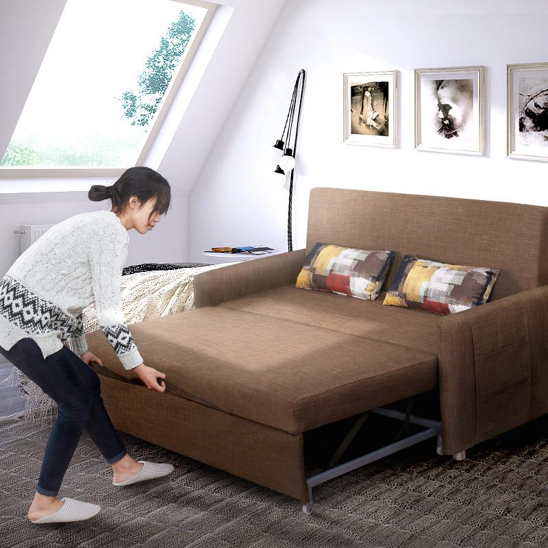 小户型两用沙发床_小户型实木沙发床两用图片