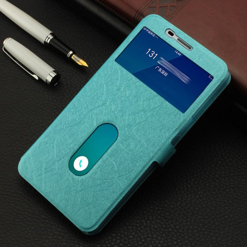 r9手机套r9t手机壳r9m保护壳oppor9开窗皮套oppor9m