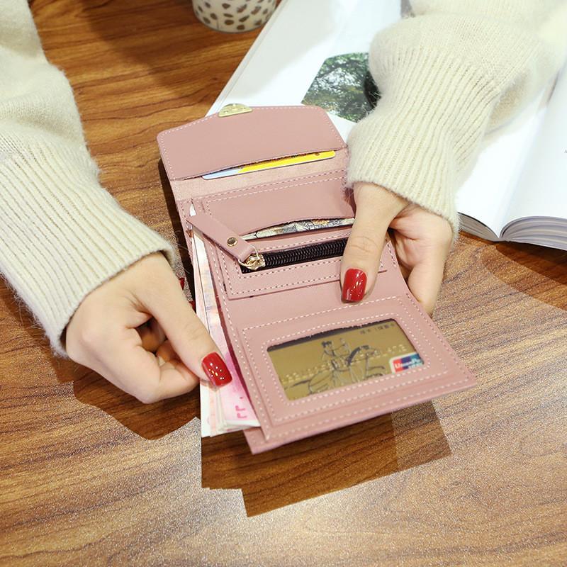 2018新款迷你小钱包女短款 可爱少女心钱夹韩版学生个性零钱包