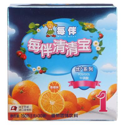 每伴清清寶優+系列香橙味1段150克