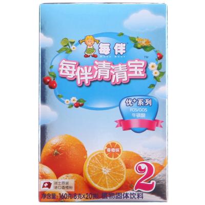 每伴清清寶優+系列香橙味2段160克