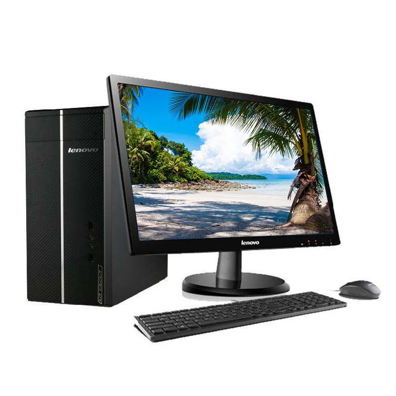 联想(lenovo)d5050台式机电脑 19.5英寸显示屏(i3- 4g图片