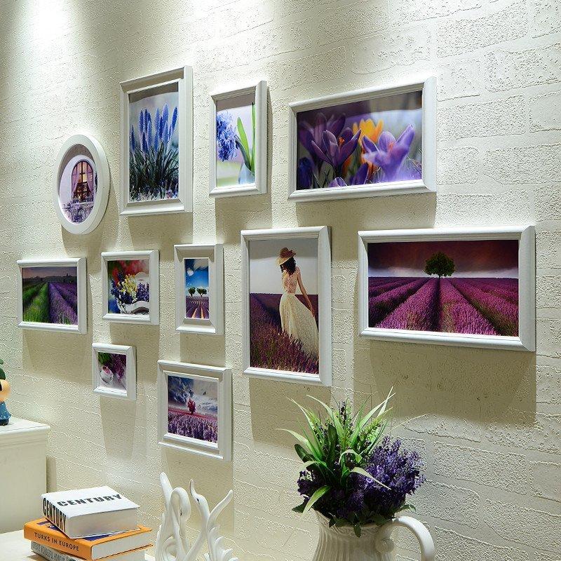 龟兔 卧室挂墙照片墙 创意影楼婚纱照相框墙组合 欧式