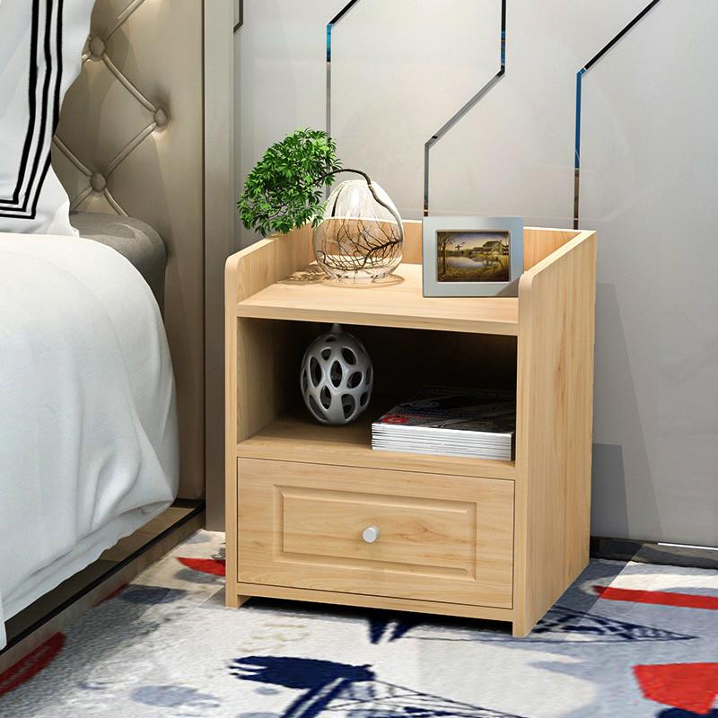 简约现代收纳柜储物床头柜简易卧室置物柜创意文件柜小柜子床边柜