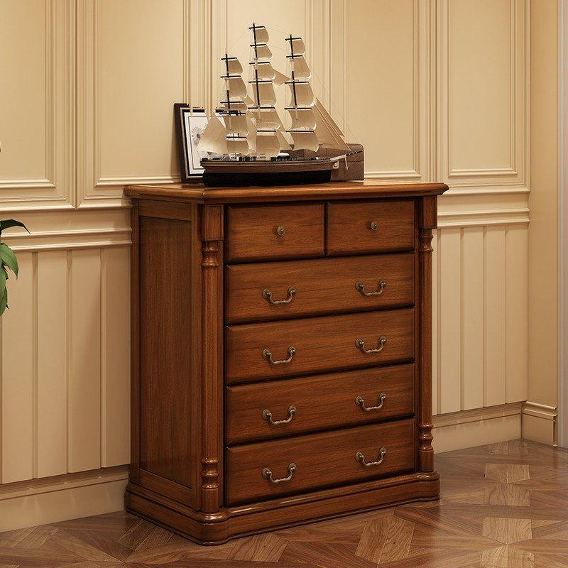 实木柜子 小型家用