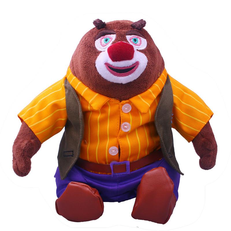 boonie bears/熊出没 熊大 熊二 光头强 全家福 礼品套装 毛绒公仔 可图片
